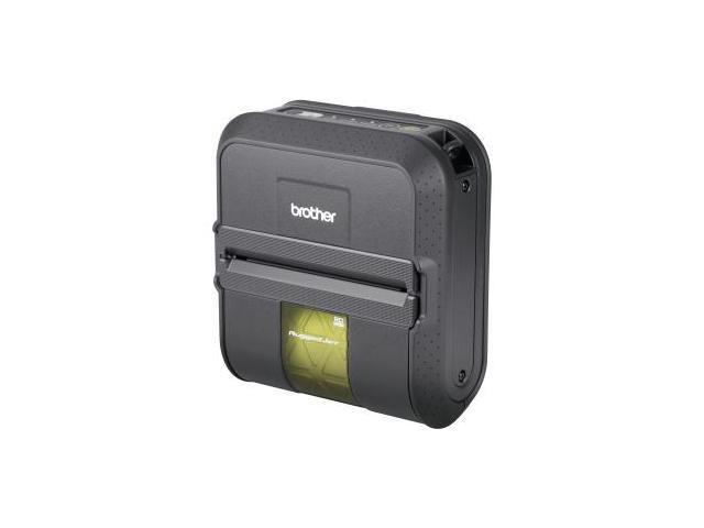 Brother RuggedJet RJ4030-K Direct Thermal Printer - Monochrome - Mobile - Label Print