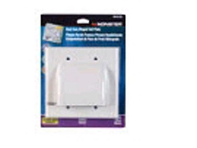 Monster Cable Hinged Wall Plate Hdmi White Carded Vanco Wall Plates 140019-00