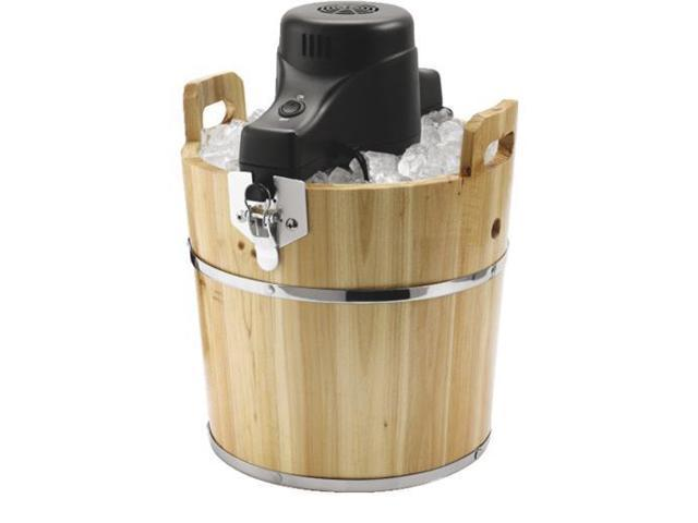 4QT ELEC ICE CREAM MAKER FRSBWDBK