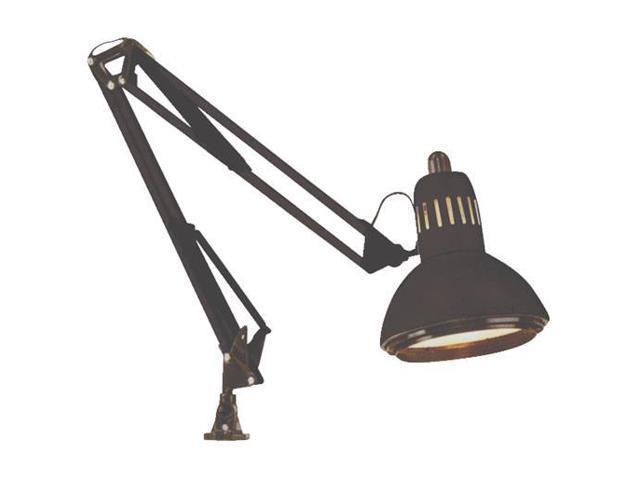 BLK A19 SWING ARM LAMP 76-359