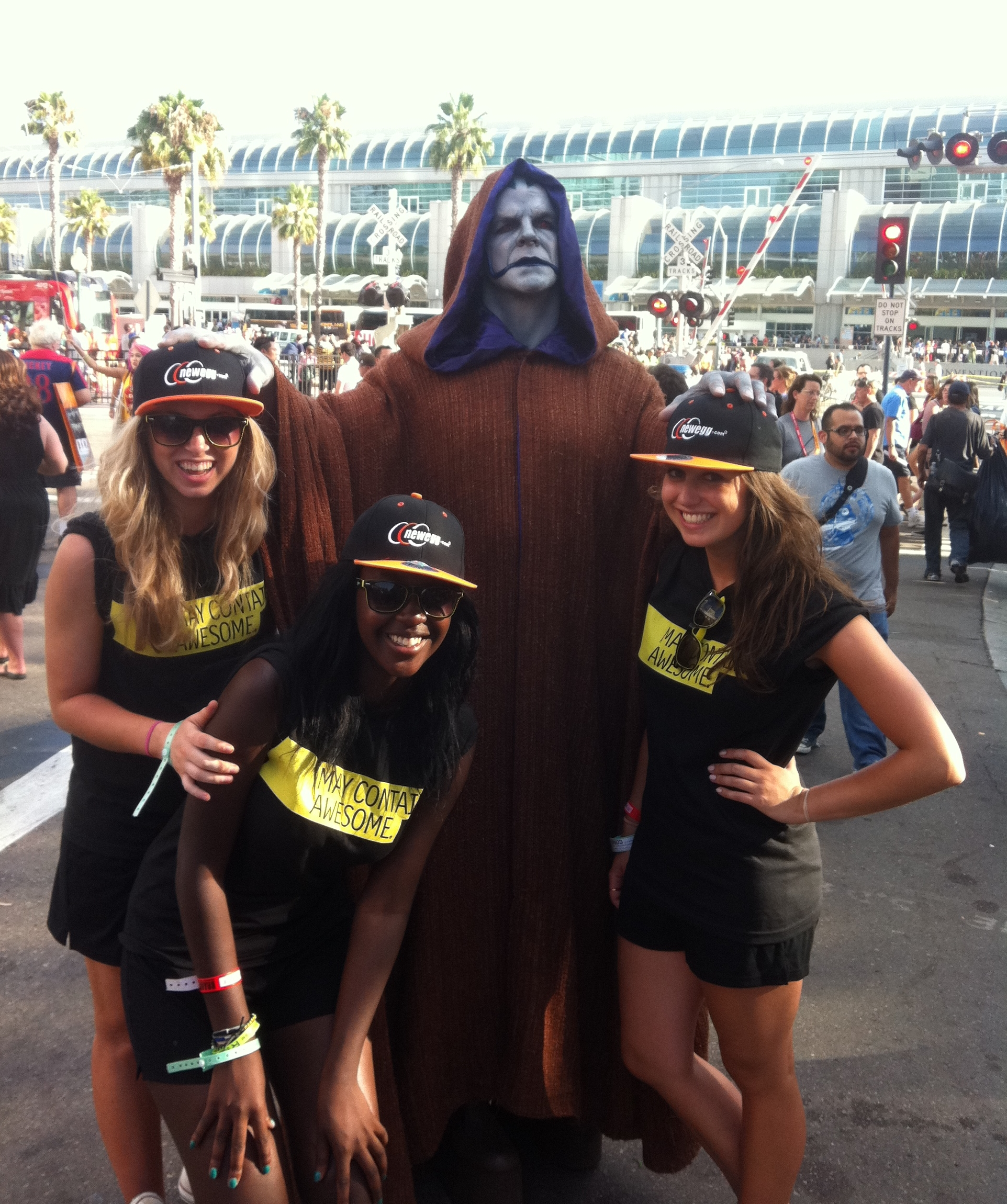 Newegg takes a trip to Comic-Con!
