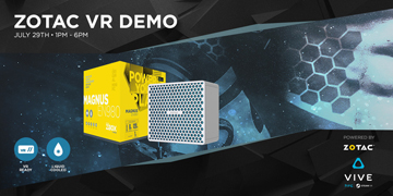 VR Experience powered by ZOTAC