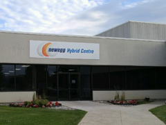 Newegg Canada Hybrid Centre Grand Opening