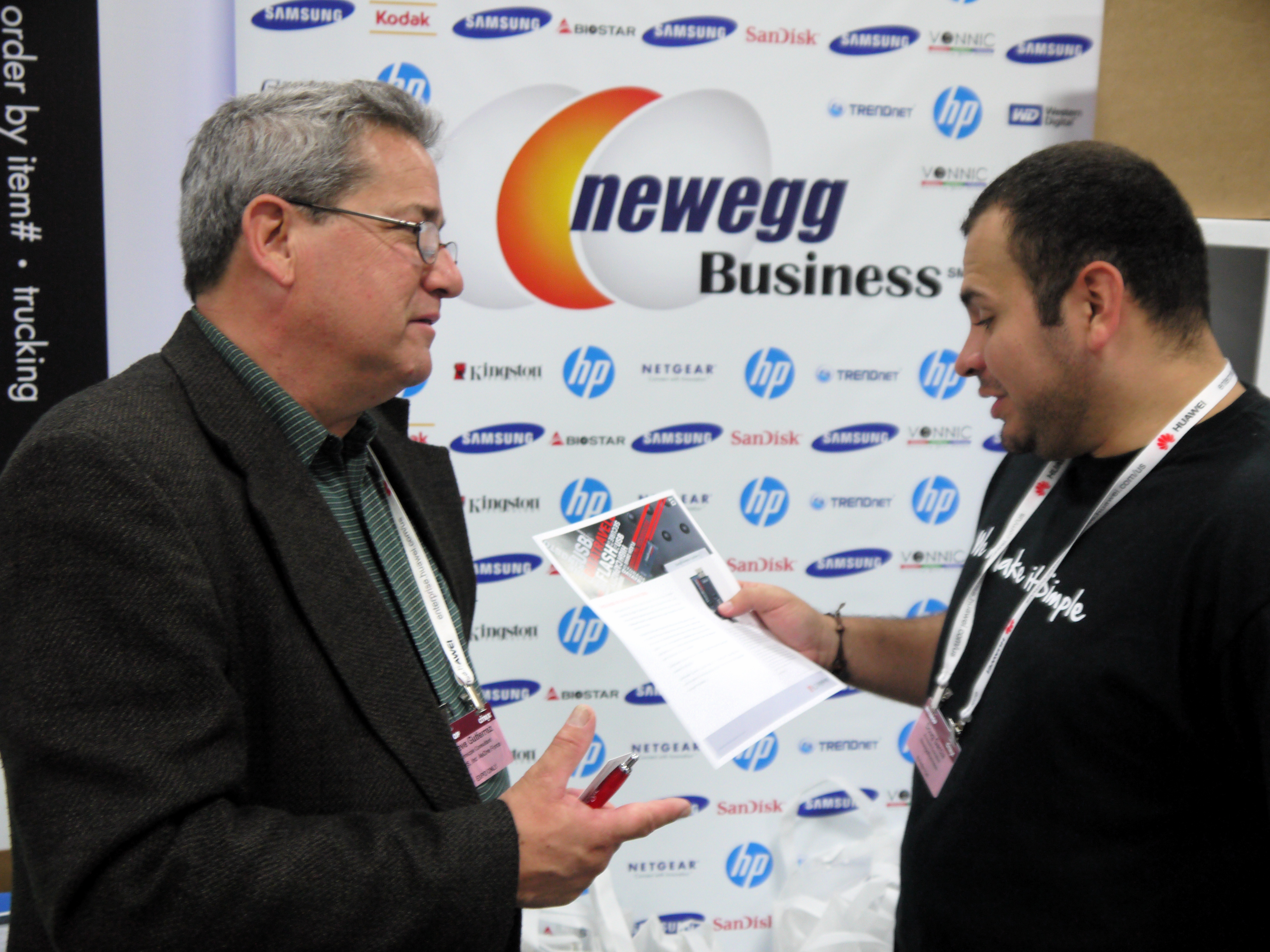 NeweggBusiness shines at Interop!